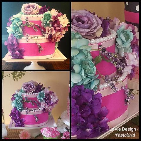 2 tier confection box