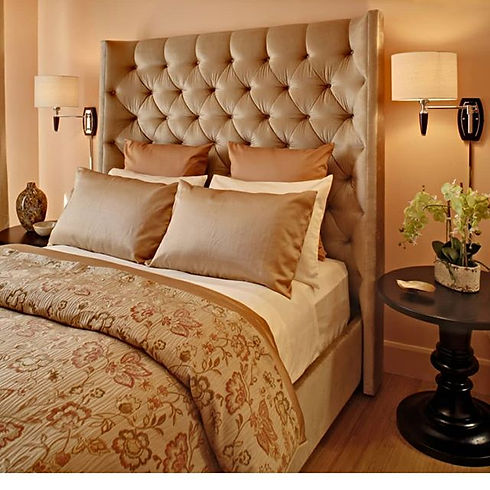 A master suite should feel calm and sere