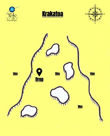 Krakatoa Map