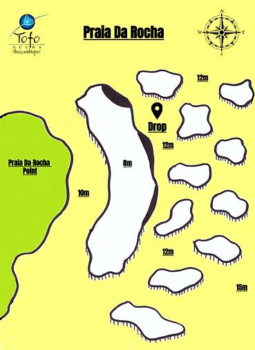 Praia Da Rocha Map