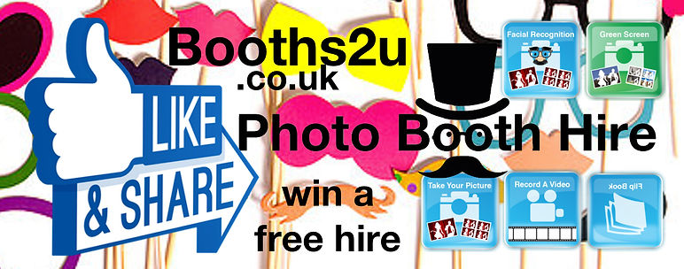 free photo booth; win a photo booth; hire a photo booth; booths2u