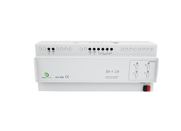 Dimming Actuator,  Leading, 4 channels, 500W