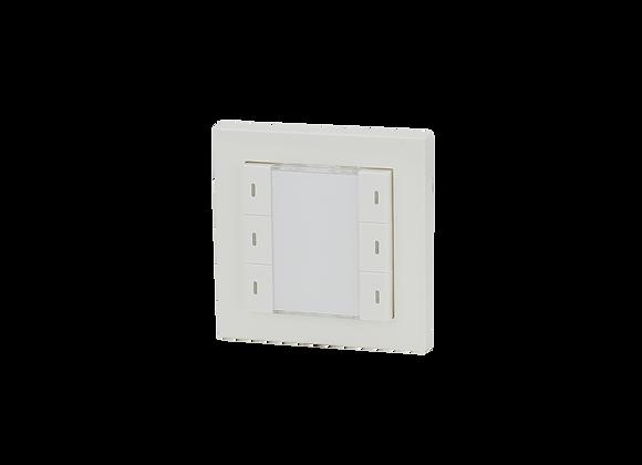 KNX Push Button, 3-fold, White