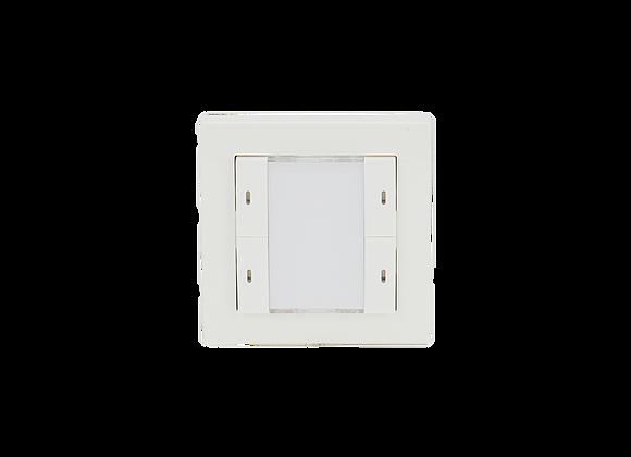 KNX Push Button, 2-fold, White