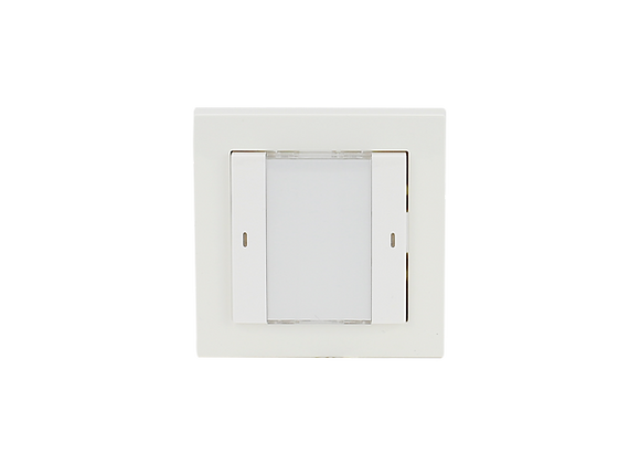 KNX Push Button, 1-fold, White