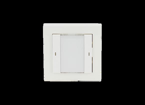KNX Push Button, 1-fold, White