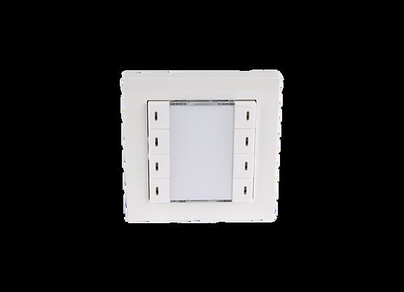 KNX Push Button, 4-fold, White