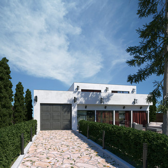 Modernhouse day render