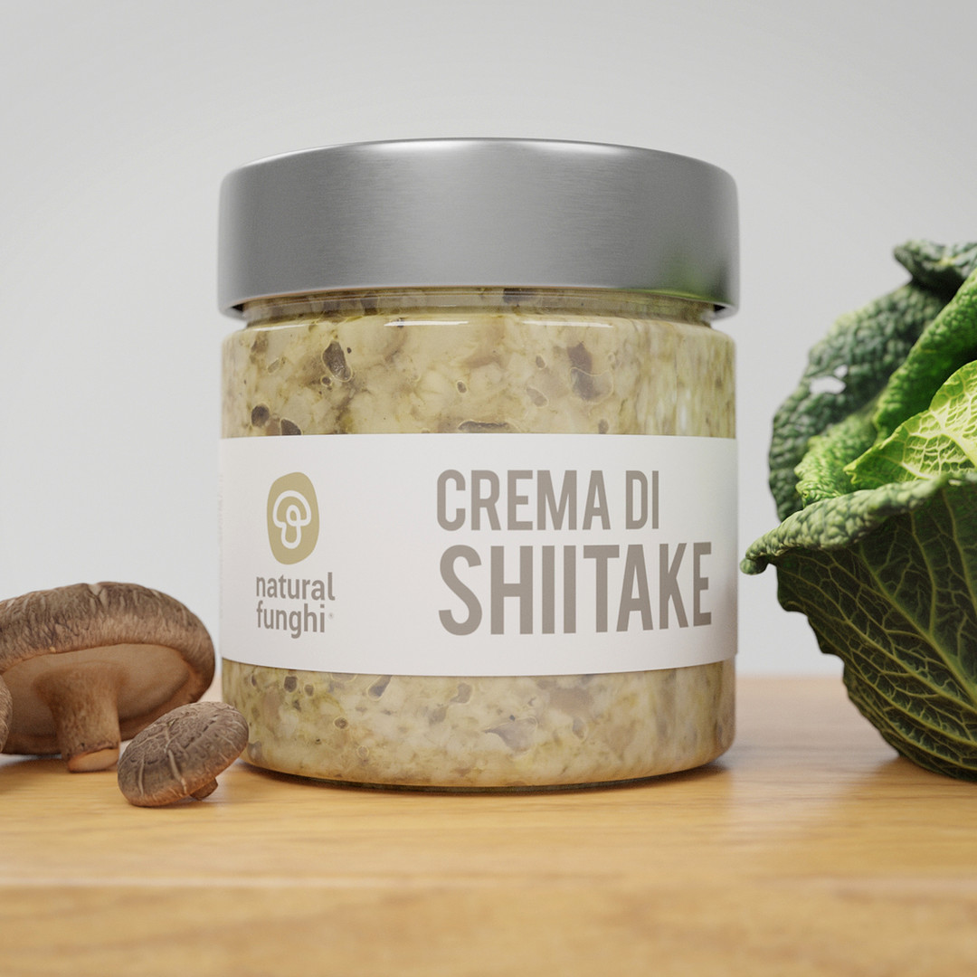 3d Shiitake Jar