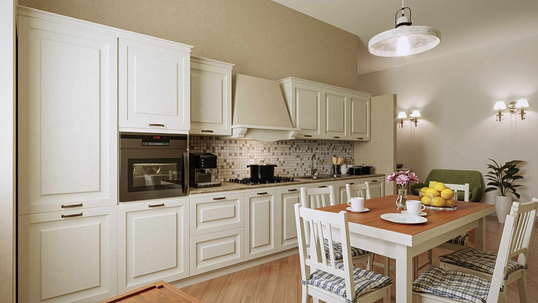 Classical modern kitchen