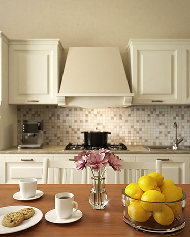 Modern classical kitchen details