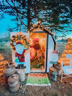 Home Farm Santa Shed