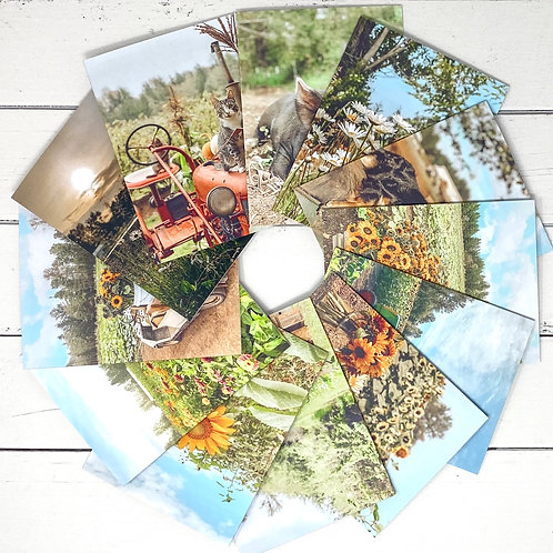Home Farm Greeting Card Set