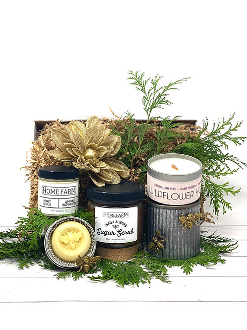 Honey-Infused Self Care Gift Set