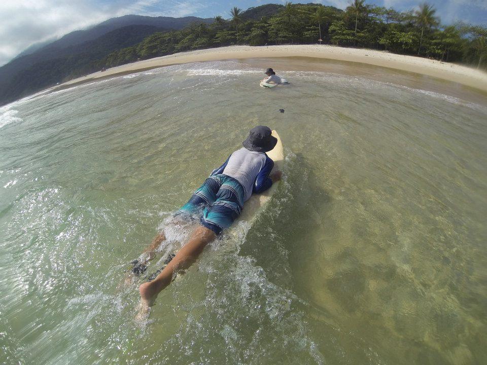 aprendendo a surfar