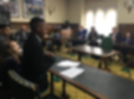 Student parliament oracy