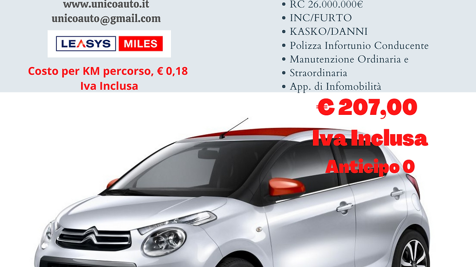 CITROEN C1 VTi SHINE