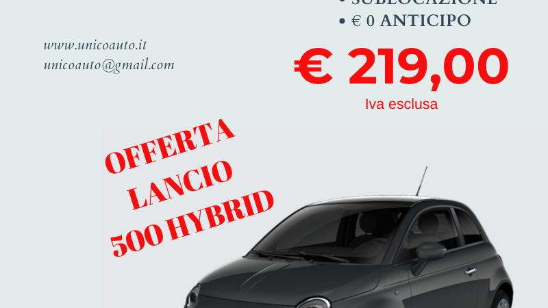 FIAT 500 1.0 HYBRID POP