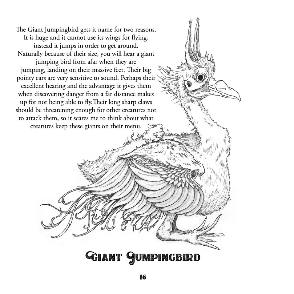 Giant Jumpingbird