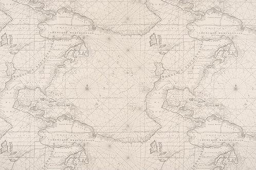 Retazo mapa 0,37x1,40 mts