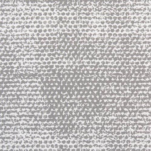 Retazo gris puntos 1,40x0,84