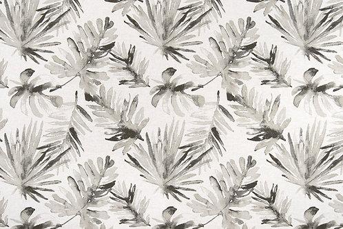 Retazo hojas wh/bl/gris 1,40x0,21