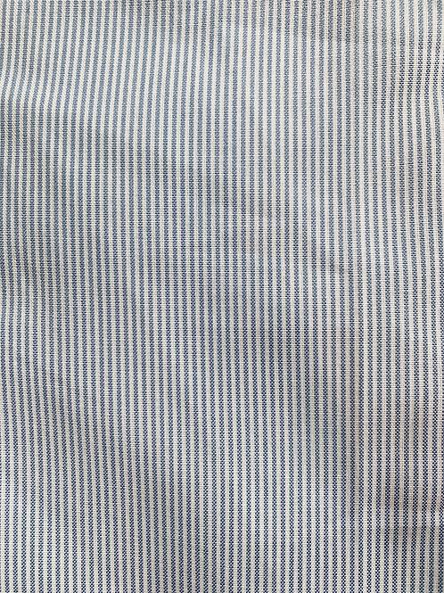 Retazo rayas celestes y blanco 63x55 cms
