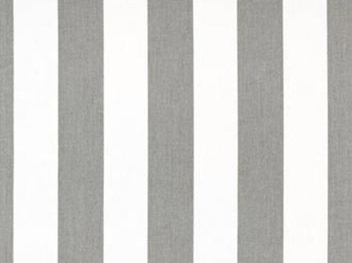Retazo rayas grises 1,22x0,22 mt