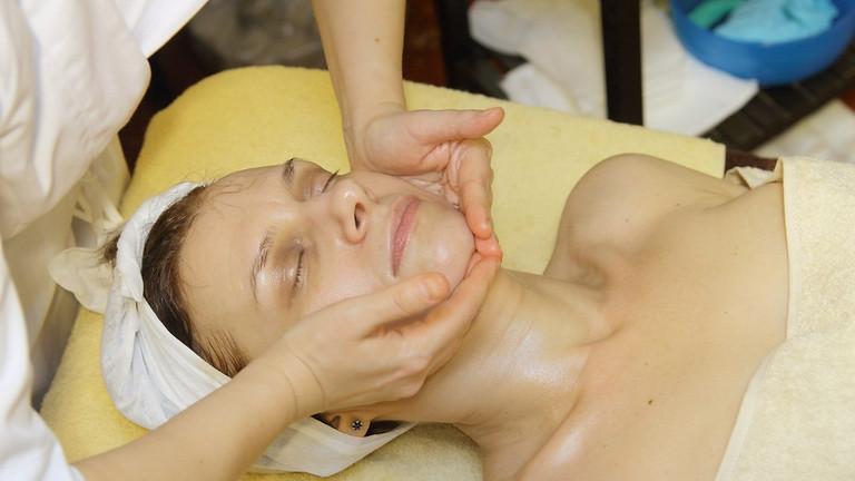 Коллагеновый массаж