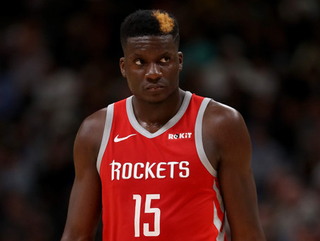 Clint Capela to Miss 4-6 Weeks With a Thumb Injury