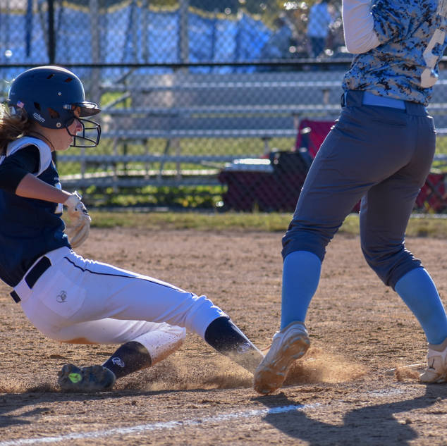 Helen Woloshyn is Safe at Third