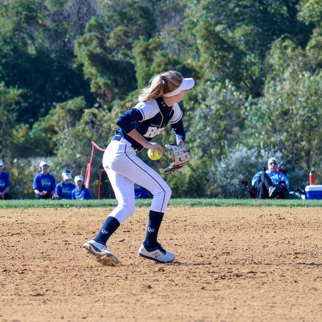 Helen Woloshyn Makes the Play at Short Stop