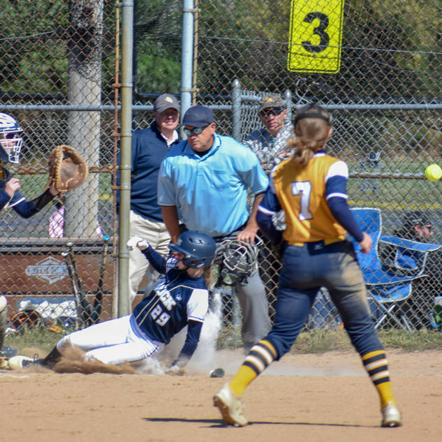Katie Reed is Safe at Third