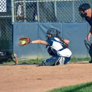Abbey Valente Catches Strike Three