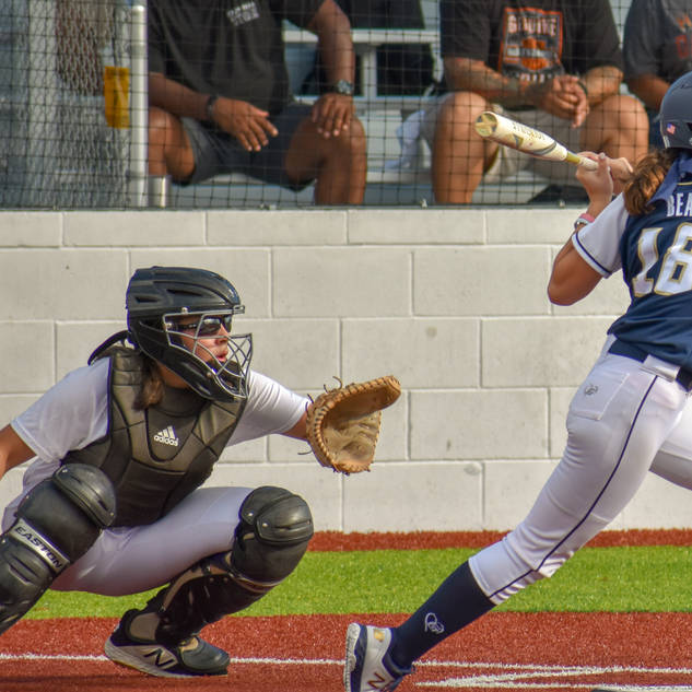 Ava Beal Slap Hits against the Cape Fear Storm