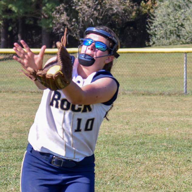 Violet Marta Makes a Running Catch