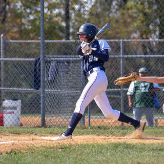 Katie Reed Gets a Hit Against the SJ Mystics