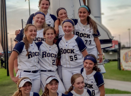 The Newtown Rock 14U Premier Goes 4-3 at Diamond 9