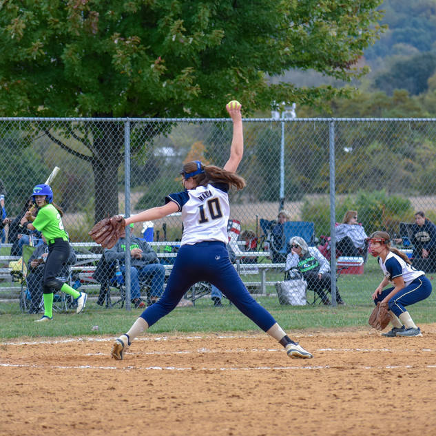 Violet Marta Pitching Against the Intensity