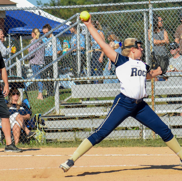 Emma Marchese Pitches Against the Outlaws
