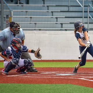 Jenna Morrison Takes a Swing