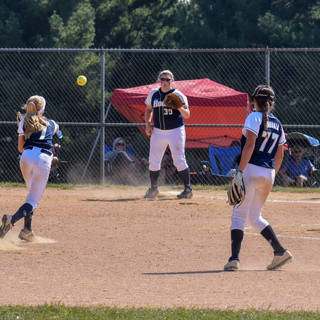 Helen Throws to Kady for the Out