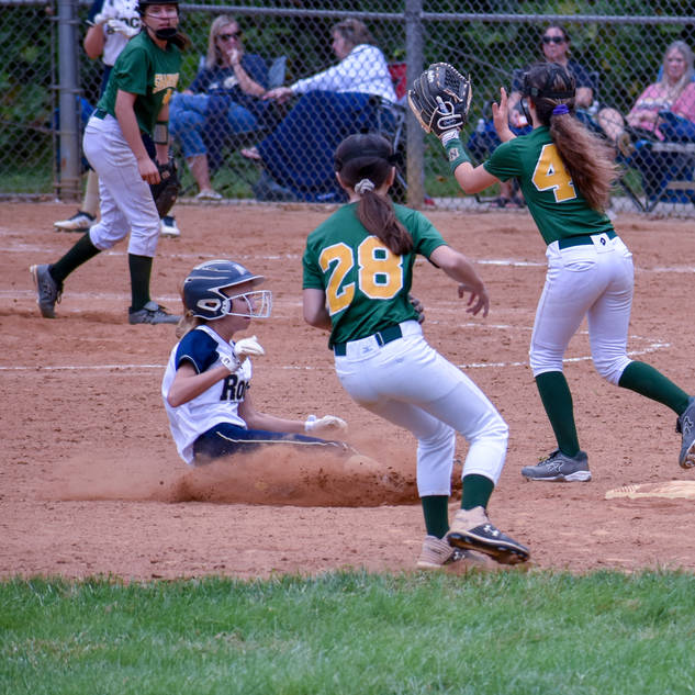 Helen Slides Into Second