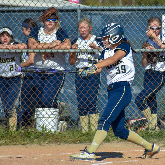 Alayna Giampolo Hits Against the Outlaws