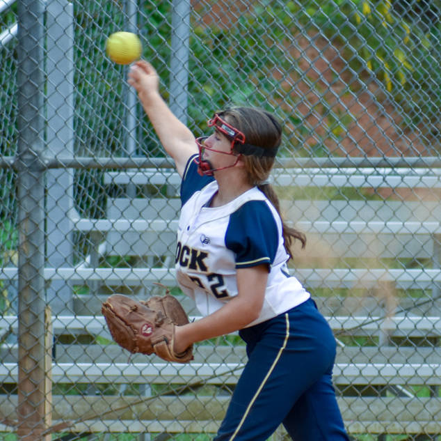 Jenna Throws from Third