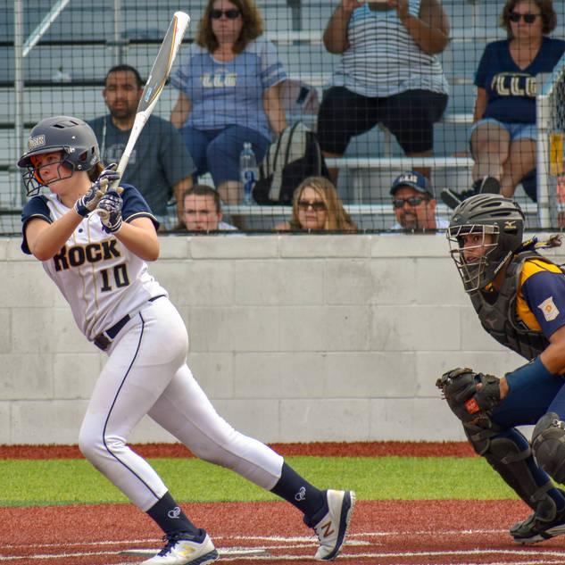 Violet Marta Takes a Swing