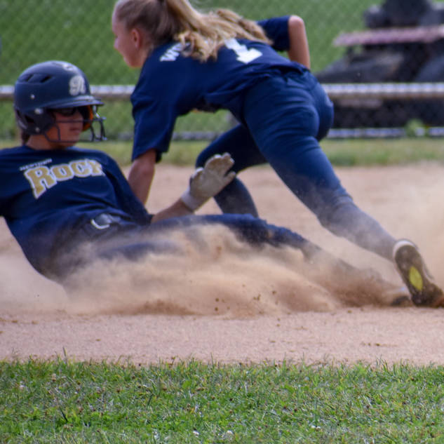 Helen Tries a Tag at Second