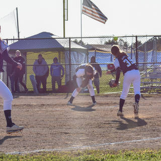 Alayna Makes the Throw to First