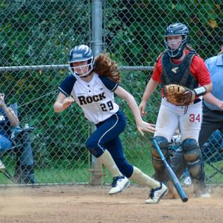 Katie Runs to First
