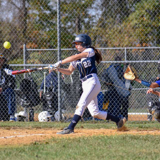 Jenna Morrison Gets a Hit Against the Delco Diamonds